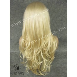 Lace Front Wig. Wavy Long Blonde Wig. Online Wigs Store