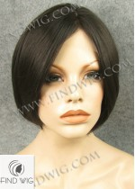 Lace Front Wig Straight Brown Short Hair. New Style Wig
