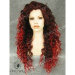 Drag Queen Wig Curly Red Long Wig. New Style Wig