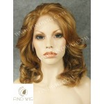 Lace Front Wig Wavy Chestnut Medium-Long Hair. New Style Wig
