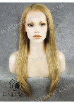 Lace Wig. Straight Blonde Long Wig. New Style Wig