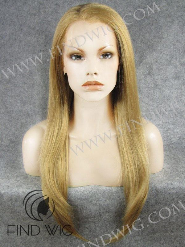 Blonde Straight Wig 106