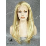 Lace Front Wig. Straight Blonde Long Wig. New Style Wig