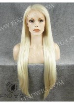 Lace Front Wig. Straight Blonde Super Long Wig. New Style Wig