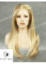 Lace Front Wig Straight Blonde Long Hair. New Style Wig