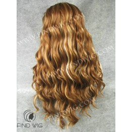 Highlighted Wig. Wavy Chestnut Highlighted Long Wig. Buy Wigs Online