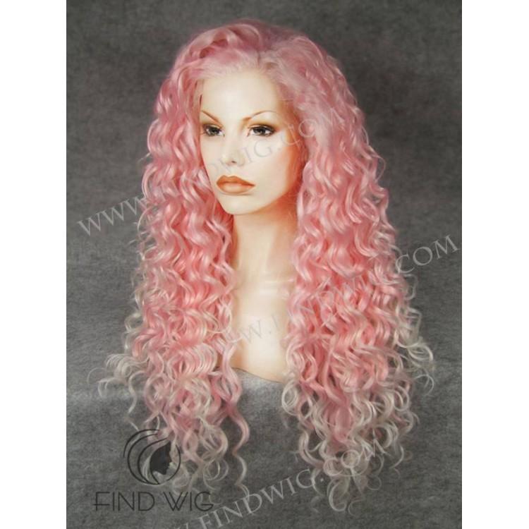 Pink Wigs Halloween 49
