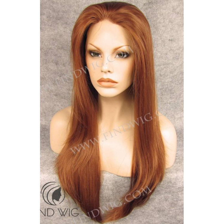Straight Red Wig 7