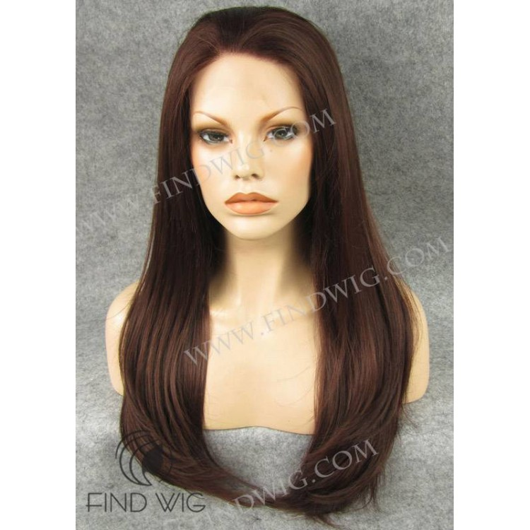 Straight Red Wig 50