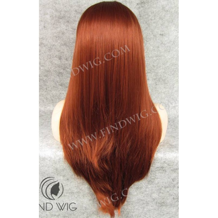 Straight Red Wig 42