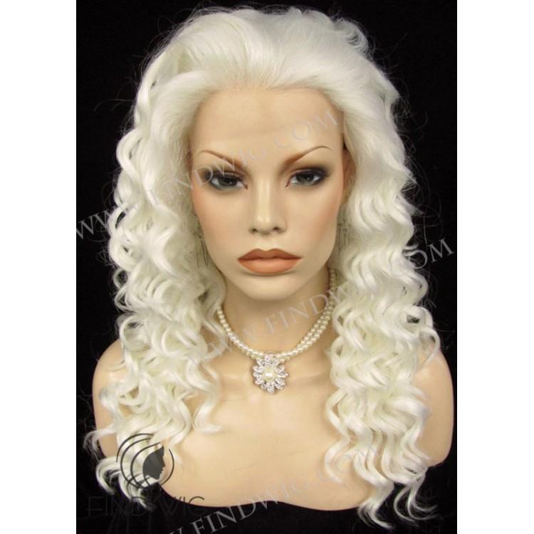 Curly Platinum Blonde Long Wig Buy Wigs Online