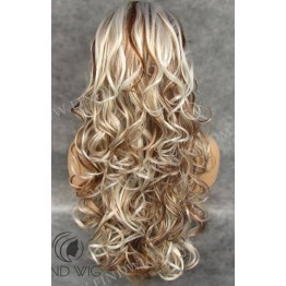 Highlighted Wig. Wavy Blond Highlighted Long Wig. Buy Highlighted Wig