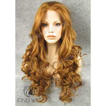 Cosplay Jessica Rabbit Style Wig. Wavy Ginger Long Wig