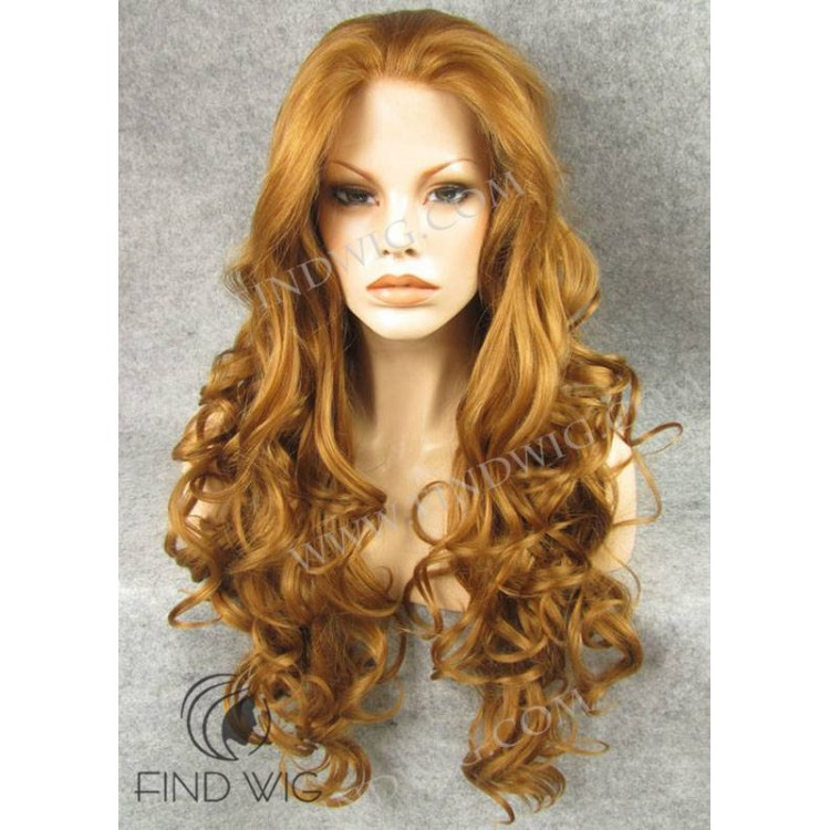 Wavy Ginger Long Wig. Jessica Rabbit Wig. Online Wig Store b4b01afbf