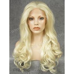 Kanekalon Wig. Wavy Blonde Long Wig. Online Wig Store