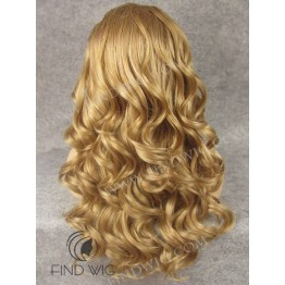 Kanekalon Wig. Wavy Blonde Long Wig