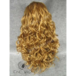 Highlighted Wig. Wavy Blonde Gold Highlighted Long Wig. Buy Wigs Online